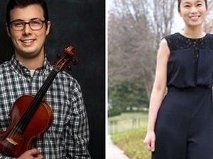 Bartholomew Shields & Hsiao-Ying Lin Violin Recital Live Stream & In-person