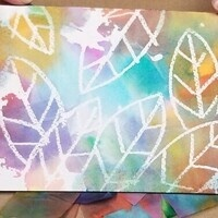 Painting with Tissue Paper
