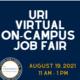 URI VIRTUAL On-Campus Job Fair