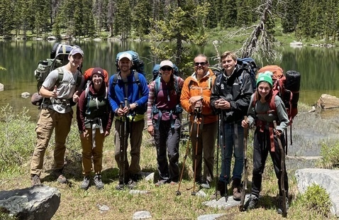 Backpacking in the Fossil Ridge Wilderness