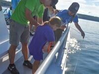 Kid's Water Quality Cruise on Cayuga Lake