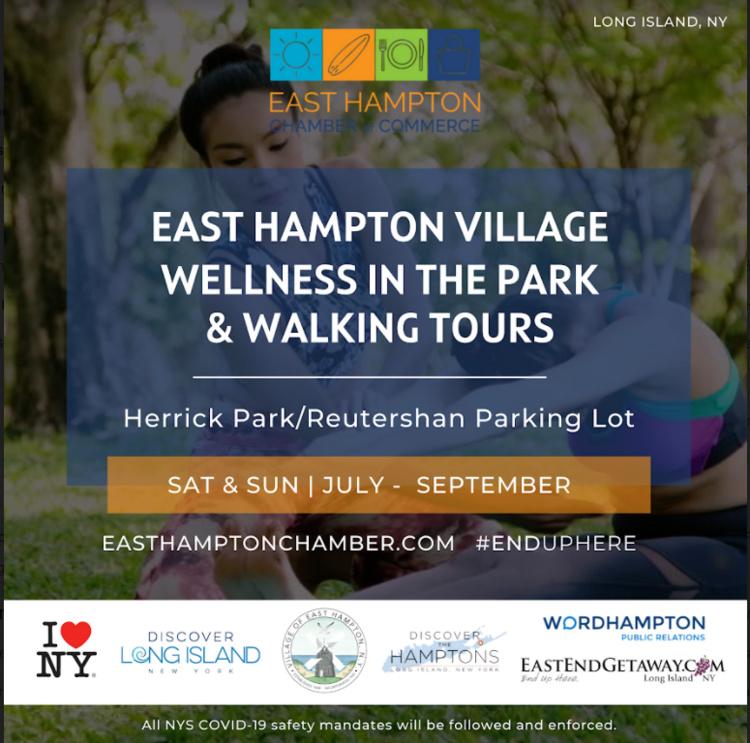 East Hampton Village Wellness in the Park