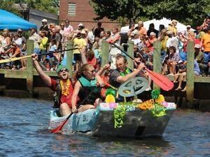 Cardboard Boat Race 2021