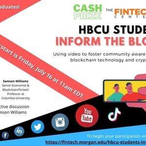 HBCU Students Inform the Block Kickstart Event