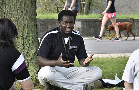 Yahya Ndiaye, Laker Leader captain