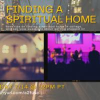 Finding a Spiritual Home
