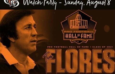 Watch Party: Tom Flores '58 Pro Football Hall of Fame Induction