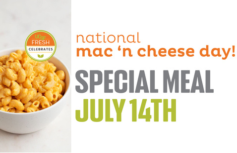 Celebrate National Mac and Cheese Day @ Mount Zion Cafe