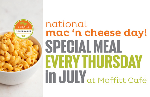Celebrate National Mac and Cheese Day @ Moffitt Cafe
