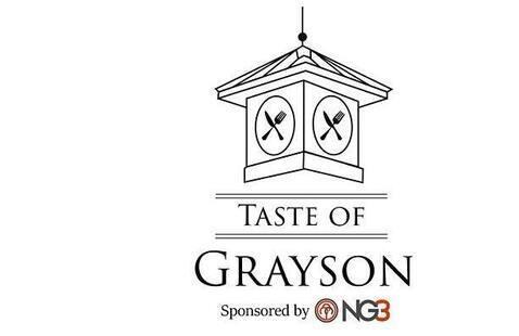Taste of Grayson logo