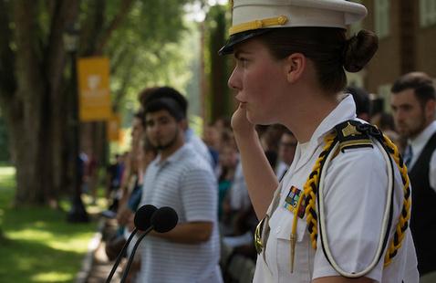 New Student Oath Ceremony