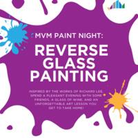 MVM Paint Night: Reverse Glass Painting