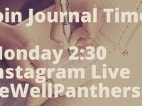 Live Journaling with BeWellPanthers #JournalTimeGSU