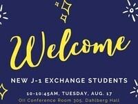 J-1 Exchange Student Welcome