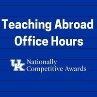 Teaching English Abroad Office Hours