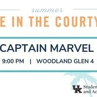 Movie in the Courtyard: Captain Marvel