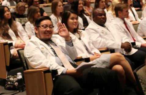 White Coat Ceremony Honoring the Class of 2024
