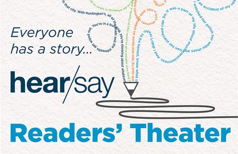 hear/say Readers' Theater invite
