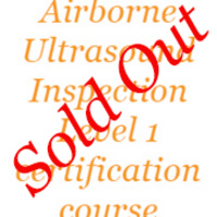 Airborne Ultrasound Inspection Level I Certification Course