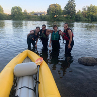 Inflatable Kayak Float