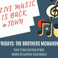 Live Music: The Brothers McMahon