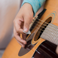 Playing Guitar