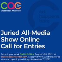 September 2021 All Media Show Call for Entries