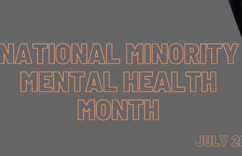National Minority Mental Health Awareness Month 2021
