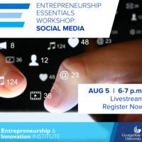 Entrepreneurship Essentials Workshop   Social Media
