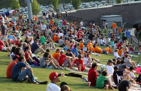 fans at Stripers Game