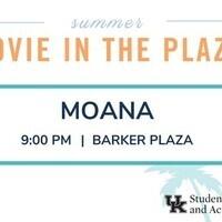Movie in the Plaza: Moana