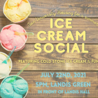 Ice Cream Social at 5PM