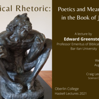 Radical Rhetoric: Poetics and Meaning in the Book of Job