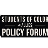 Students of Color and Allies Policy Forum
