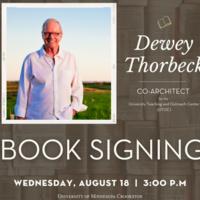 Dewey Thorbeck -Book Signing