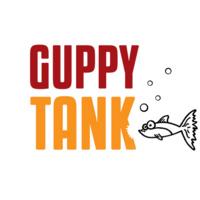"Text reads ""Guppy Tank."""