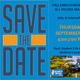 SAVE THE DATE flyer for fall employment fair on Midland's campus