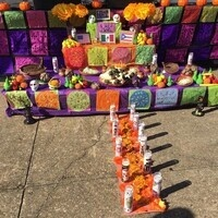 Altar-Making with the Creative Alliance's Artesanas