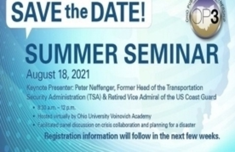 Ohio Public Private Partnership (OP3) Summer Seminar