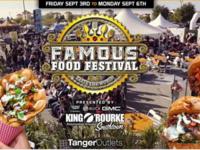 "Famous Food Festival ""Taste the World"" Long Island Returns To Tanger Outlets, Deer Park"