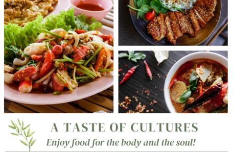 """A Virtual Taste of Cultures!"""
