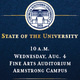 State of the University - Savannah
