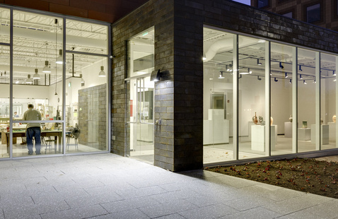 The Ceramics Program, Office for the Arts at Harvard at 224 Western Ave, Allston. Photo by James Leynse for The Galante Architecture Studio