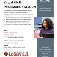 HMSS Virtual Information Session