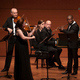 Chamber Music Society musicians performing on stage