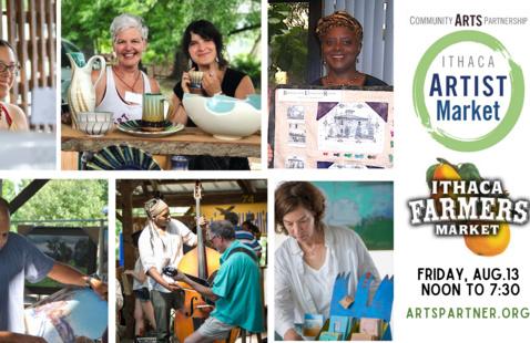 29th annual Ithaca Artist Market