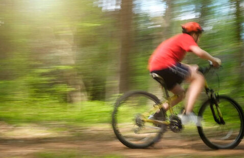 Lake Raleigh Mountain Biking Trip