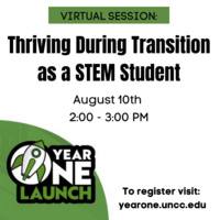 Thriving During Transition as a STEM Student