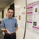 Emmanuel Gonzalez (Bio '19) presents his research poster.