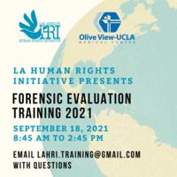 LAHRI's Fall Asylum Training